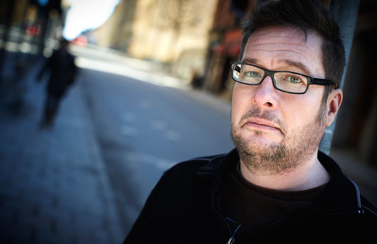 Kristian Lundberg är författare.