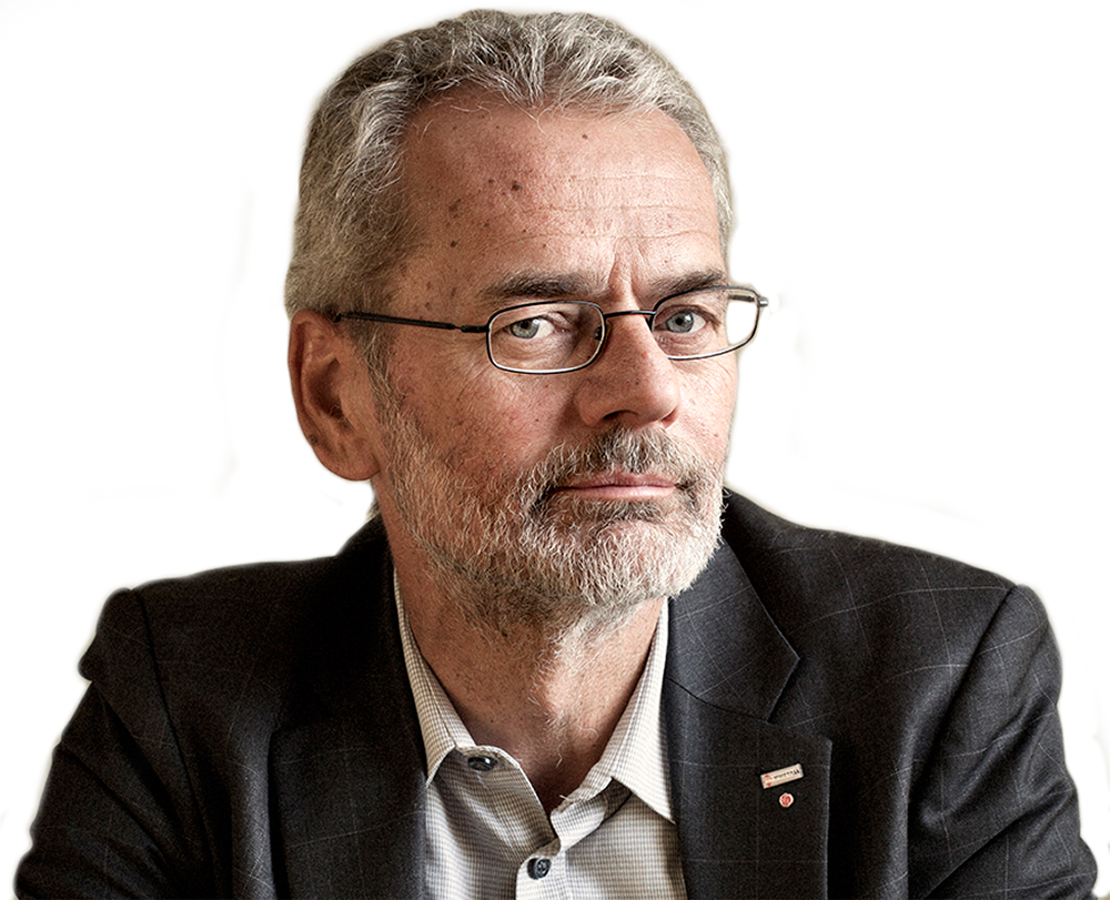 Anders Ferbe är förbundsordförande i IF Metall