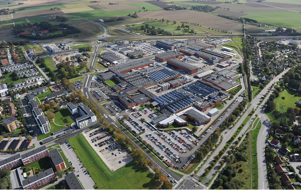 Nu stängs fabriken. 250 av totalt cirka 3500 anställda i Lund berörs. Kvar i Lund finns forskning och utveckling, en utbildningsenhet samt tillverkning av processutrustning. Foto: TT NYHETSBYRÅN
