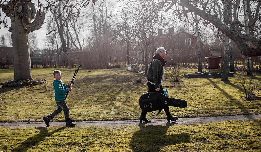 Carina Engman, revy, Dagens Arbete