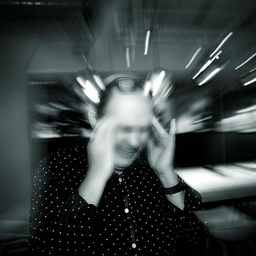 Bild av stress och oro.