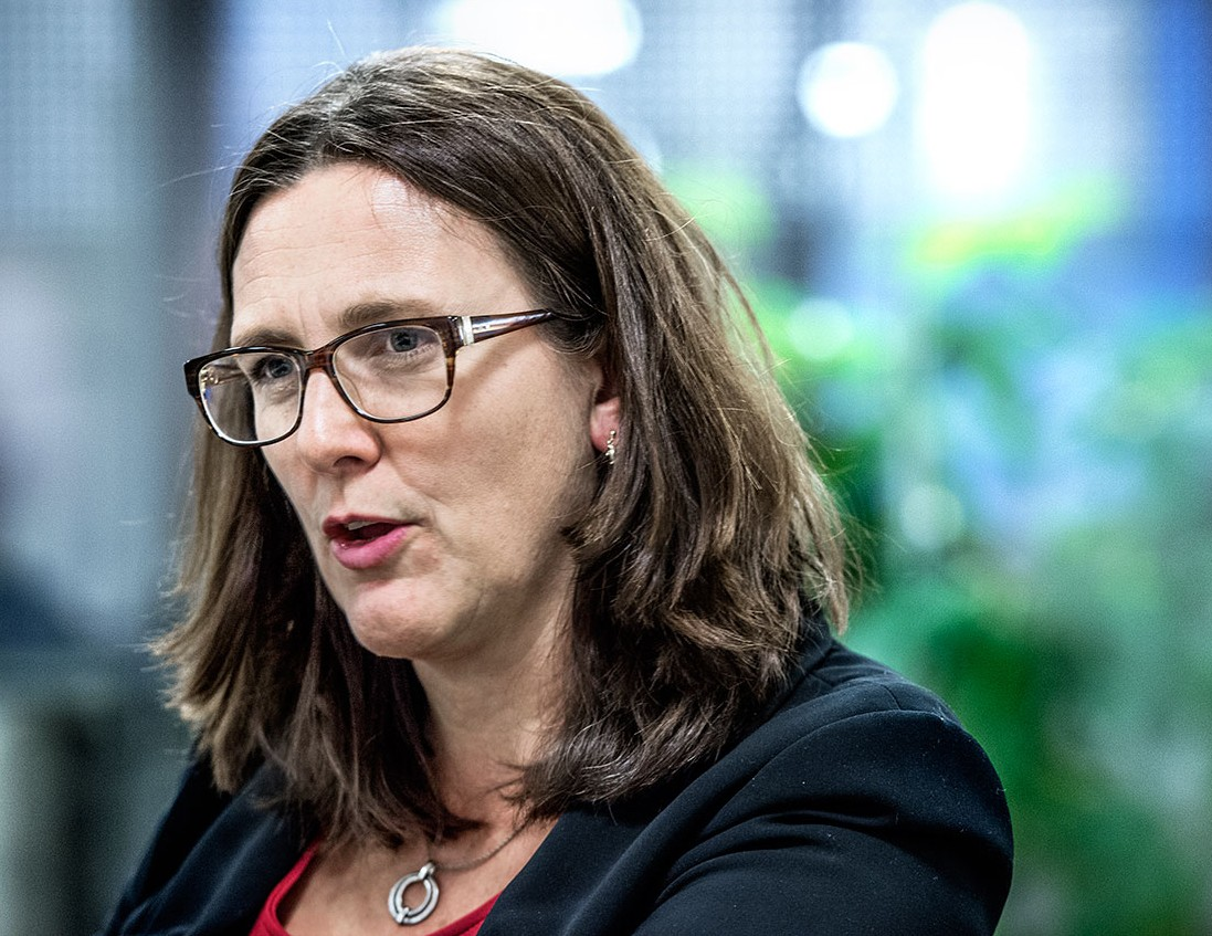 Cecilia Malmström. Foto: TT