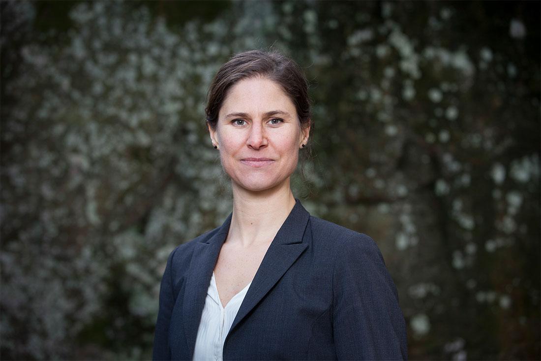 Johanna är Naturskyddsföreningens ordförande och föreningens talesperson.