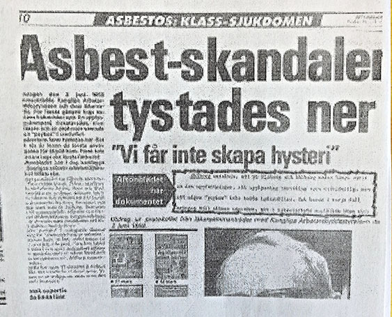 Faksimil Aftonbladet