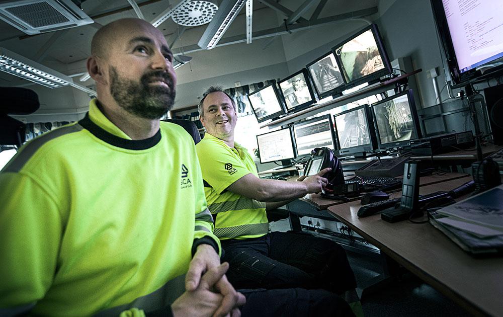 Jan Lindkvist och Patrik Högberg. Foto: Anders Westergren