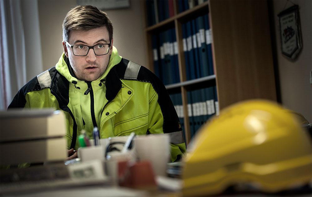 Stefan Lundkvist, ordförande i Munksund. Foto: Anders Wetergren