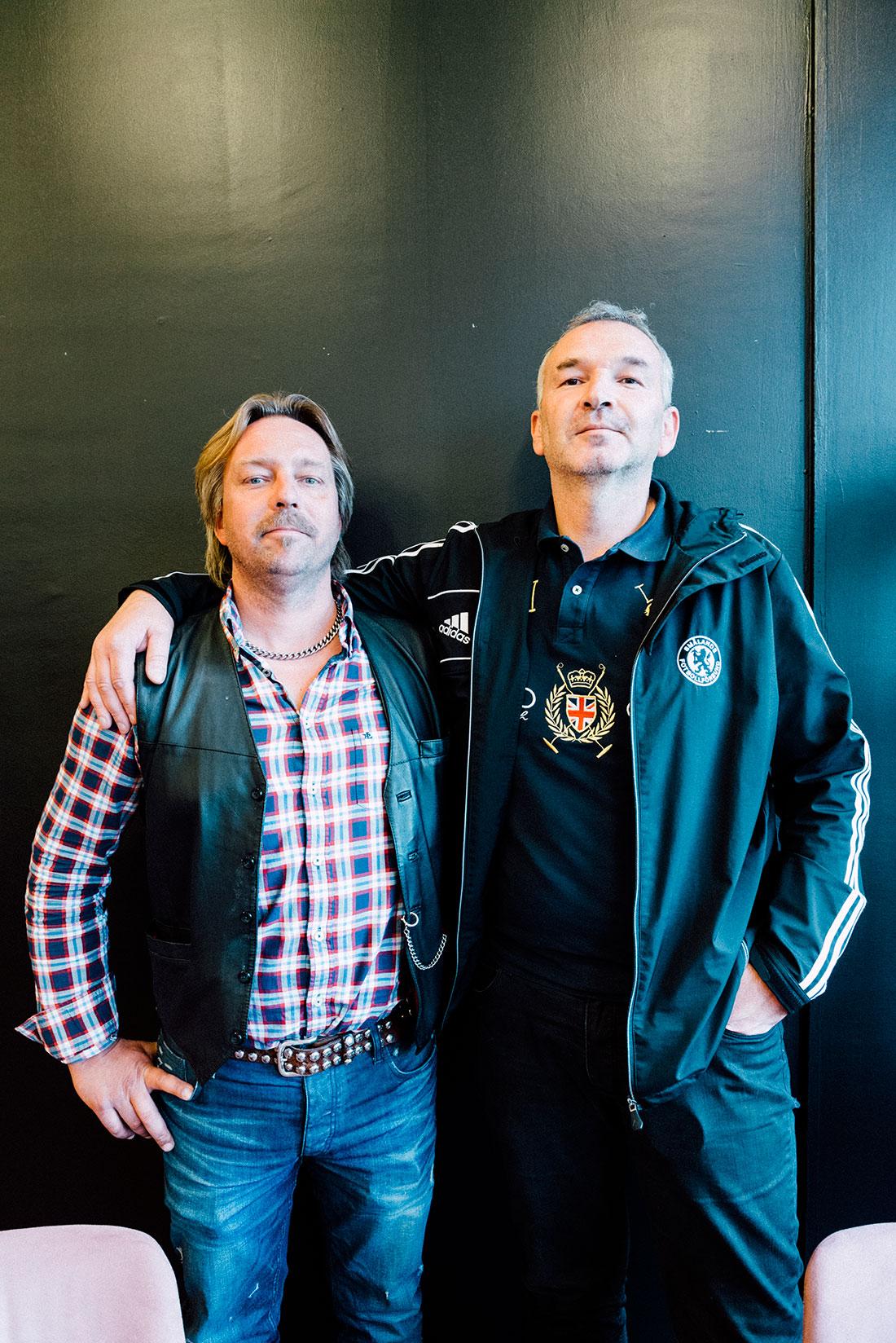Dan Karlsson och Marco Vujic på Rottneros.