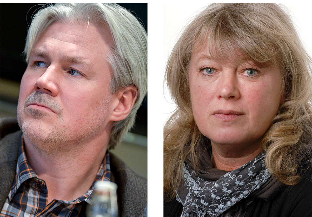 Torbjörn Johansson, LO. Lea Skånberg, IF Metall