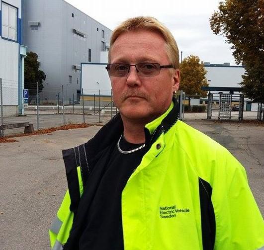 Stefan Larsson, ordförande för Iverstadsklubben på Nevs. Foto: Harald gatu
