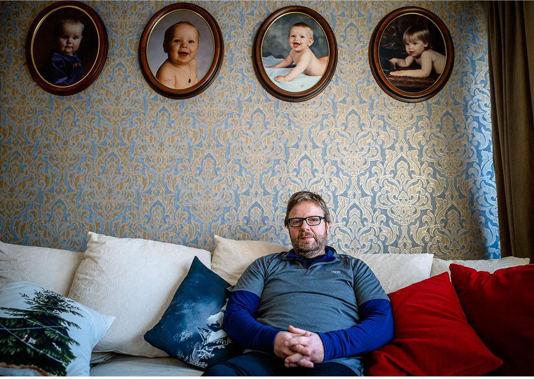 Matti Vantaa skadades i smedjan. Men hjälp av en konsult fick han ut tio års inkomstskillnad. Foto: David Lundmark