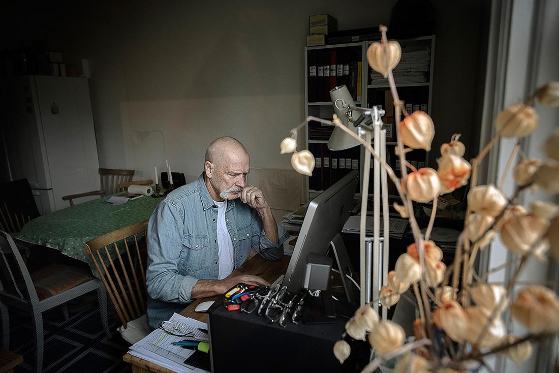 """Leif Kåvestad konstaterar att Riksrevisionen riktat kritik mot Försäkringskassan. """"Vem granskar Afa?"""" Foto: David Lundmark."""