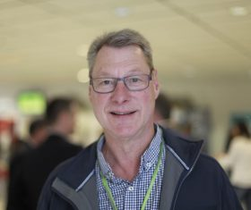 Kjell-Ove Lidén, kongressgäst från Smurfit kappa, tidigare kassör i avdelning 3. Foto: Marie Edholm