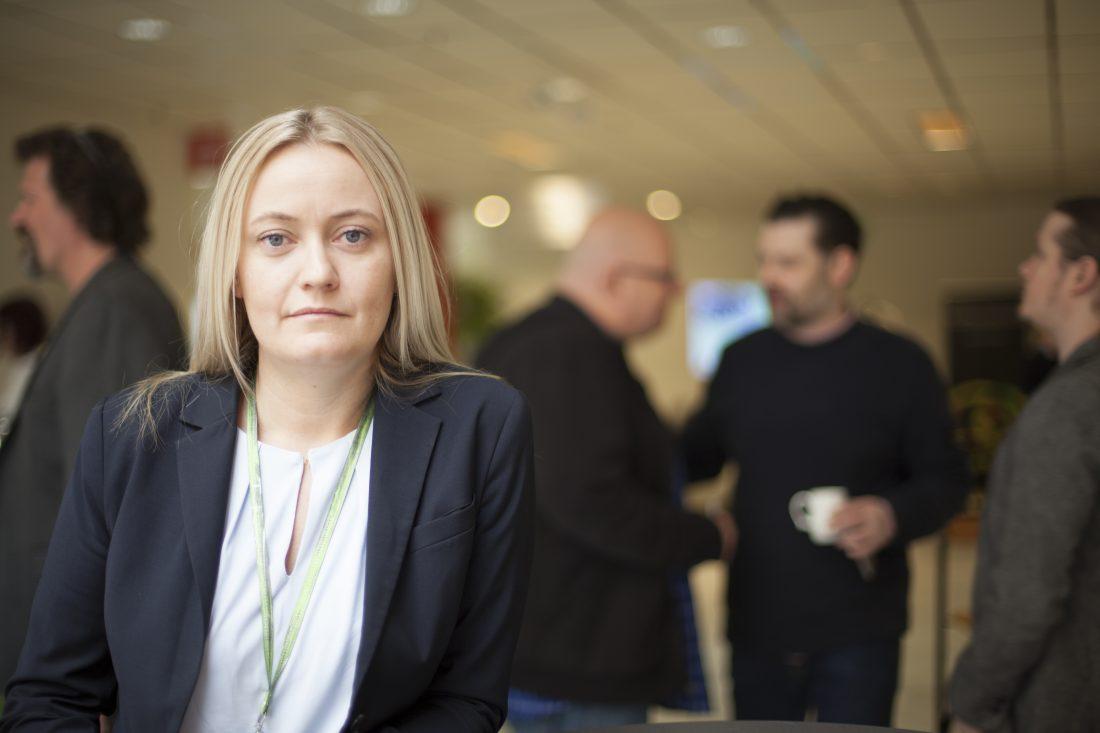 Madelene Engman, första kvinna i GS:s förbundsledning. Foto: Marie Edholm
