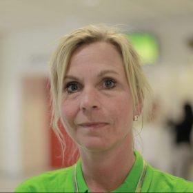 Maria Rollmar, operatör Tunadals sågverk. Foto: Marie Edholm