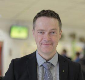 Per-Olof Sjöö, ordförande GS. Foto: Marie Edholm