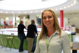 Sandra Olsson, Frövi mätstation, med i GS centrala ungdomsråd. Foto: Erik Ignerus