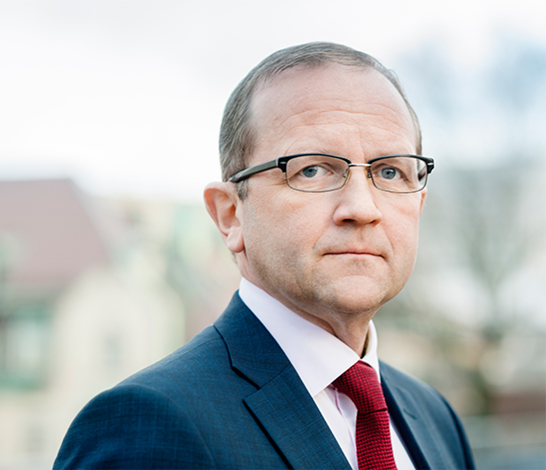 Anders Moberg, VD för Afa Försäkring. Foto: Helene Grynfarb