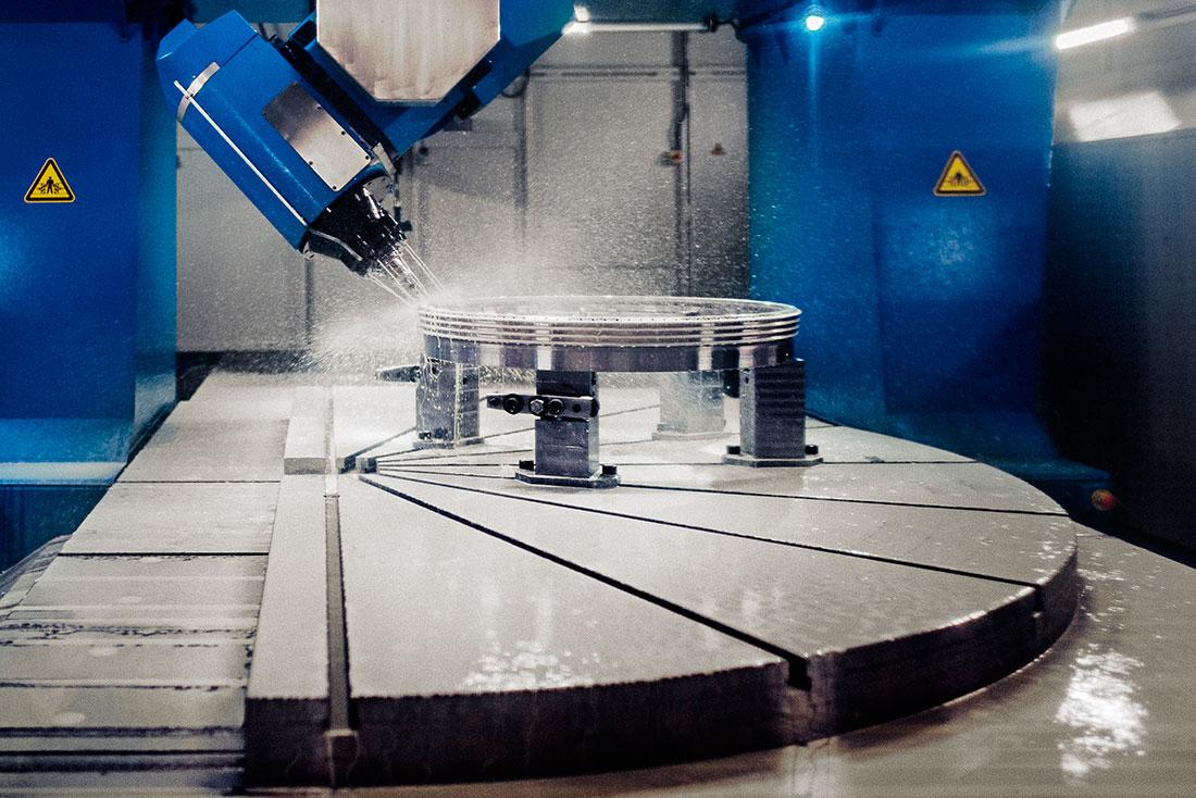 Siemens 2016: Ventilationen har byggts om. Nu kapslas maskinerna in för att lösa problemen. Foto: David Lundmark.