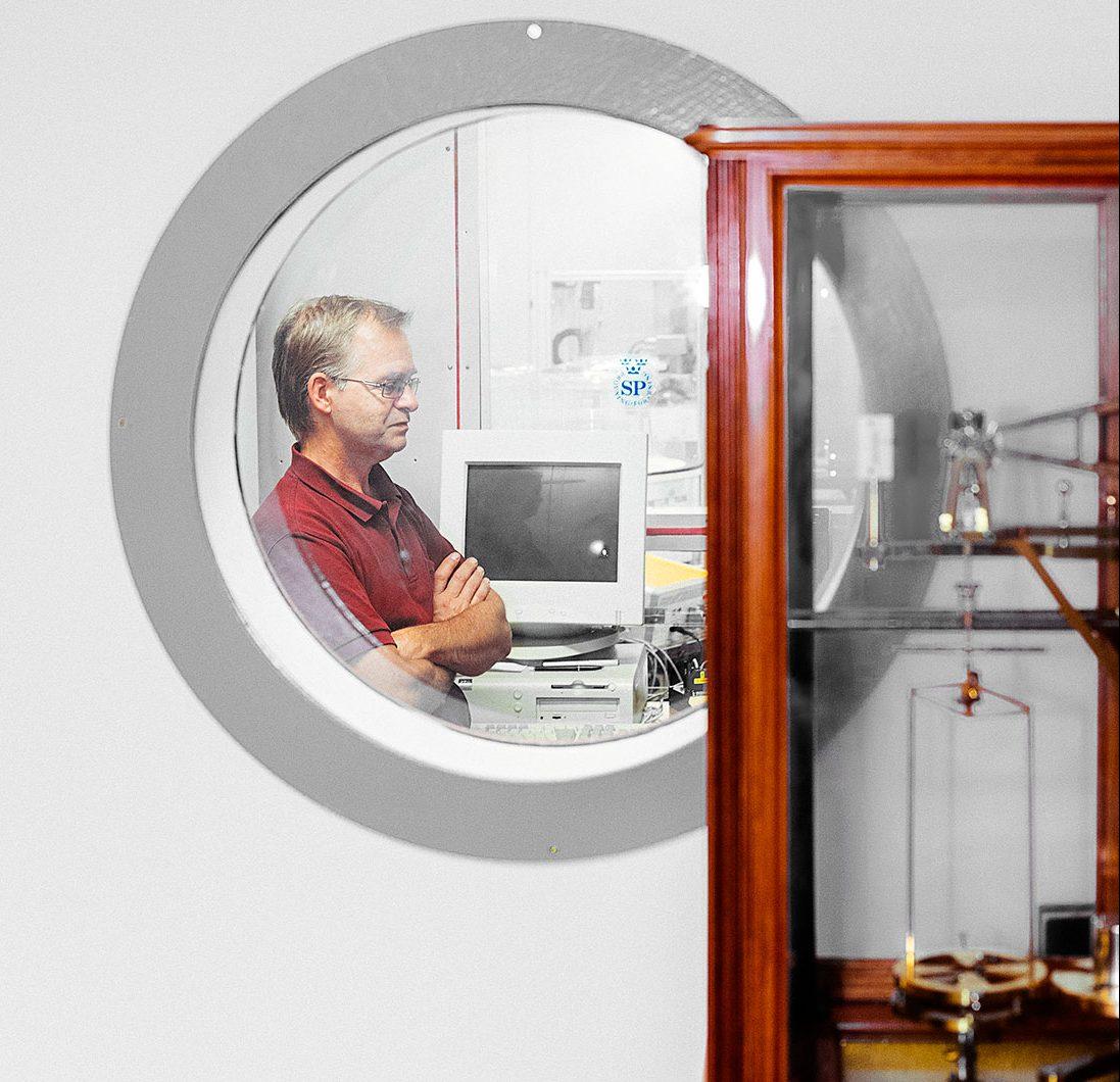 Bengt Gutfelt, tekniskt ansvarig för massaavdelningen, är ansvarig för rikskilot.Foto: David Lundmark.