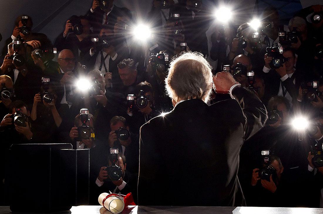 Ken Loach har kammat hem en rad priser på filmfestivalen i Cannes. Två guldpalmer, den finaste utmärkelsen, fick han för: Frihetens pris (2006) och Jag, Daniel Blake (2016). Foto: TT