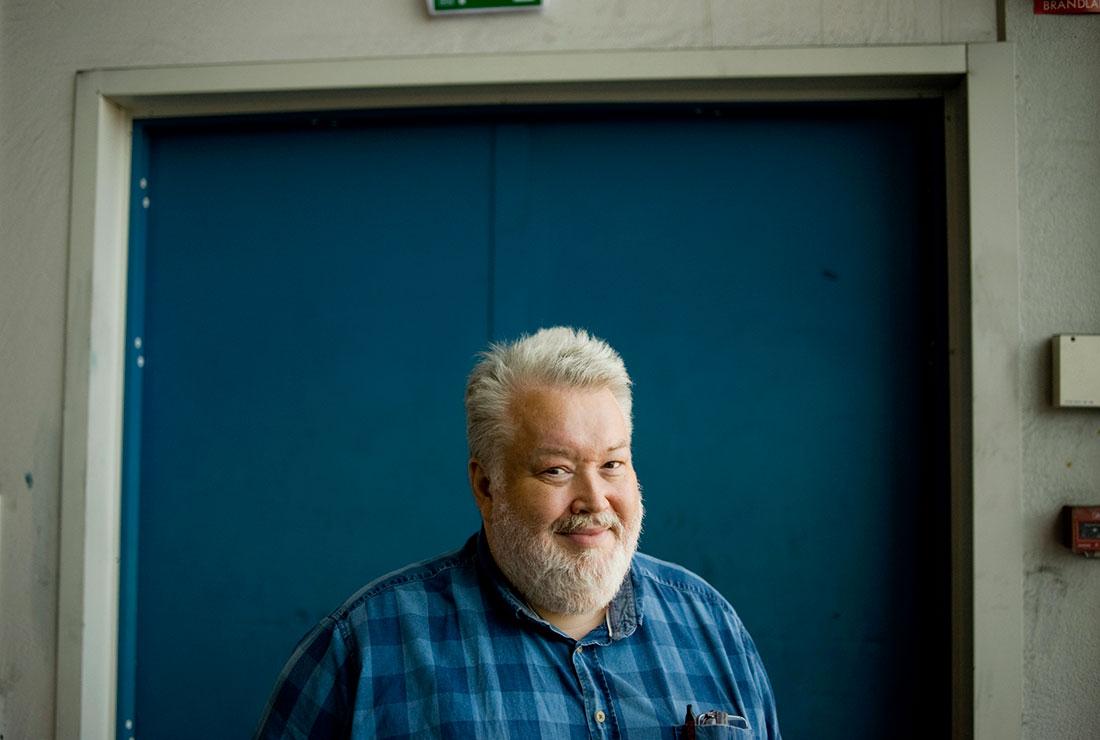 György Takács, GS klubbordförande på V-Tab Västerås. Foto: Mats Erlandsson