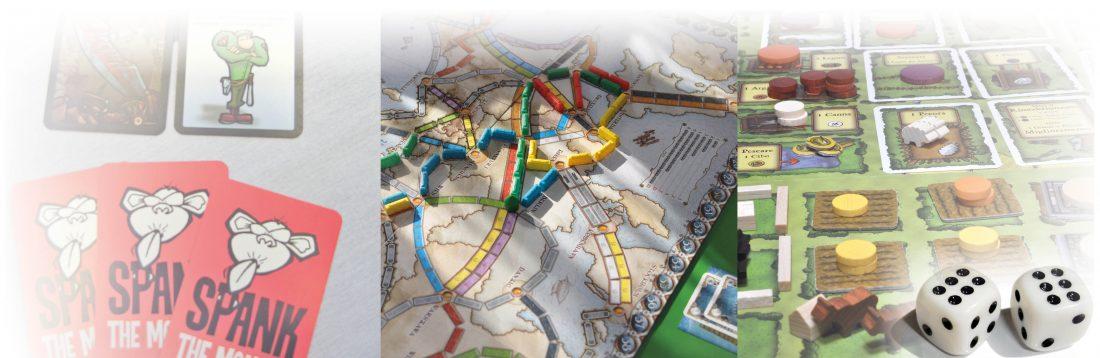 Spank the monkey, Ticket to ride och Agricola är tre av spelen DA tipsar om till jul.