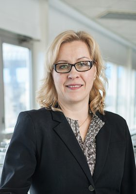 Laila Österholm, platschef Meritor Lindesberg.