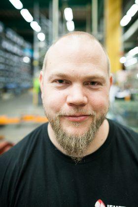 Hans-Ove Lundgren, huvudskyddsombud. Foto: Ylva Bergman