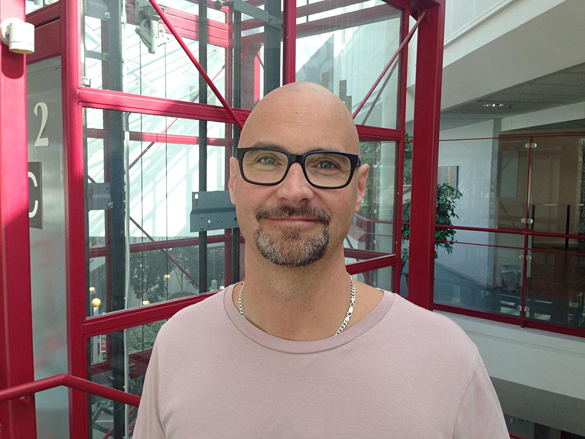 Dennis Bäckman, ordförande för Avd 86 Figeholm.