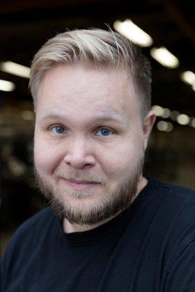 Björn Jonsson är gruppledare och ansvarig för kläder. Foto: Tomas Bergman