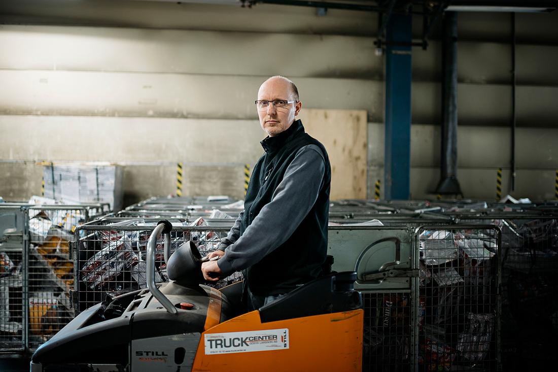 """Stibo känns som seriösa ägare, tycker Andreas Sjöö. """"De satsar. Samtidigt måste de ha hårda nypor med kostnader. Det är en tuff bransch."""" Foto: David Lundmark"""