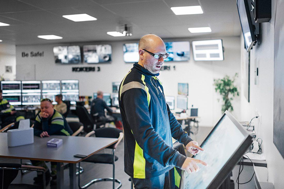 """""""I Sverige är vi världsledande på att bygga dataspel. Om vi som arbetar i processindustrin då kan använda oss av det i vår verksamhet, så kanske vi kan attrahera yngre som är uppvuxna med dataspel"""", säger Lasse Aspelin, initiativtagare. Foto: David Lundmark"""
