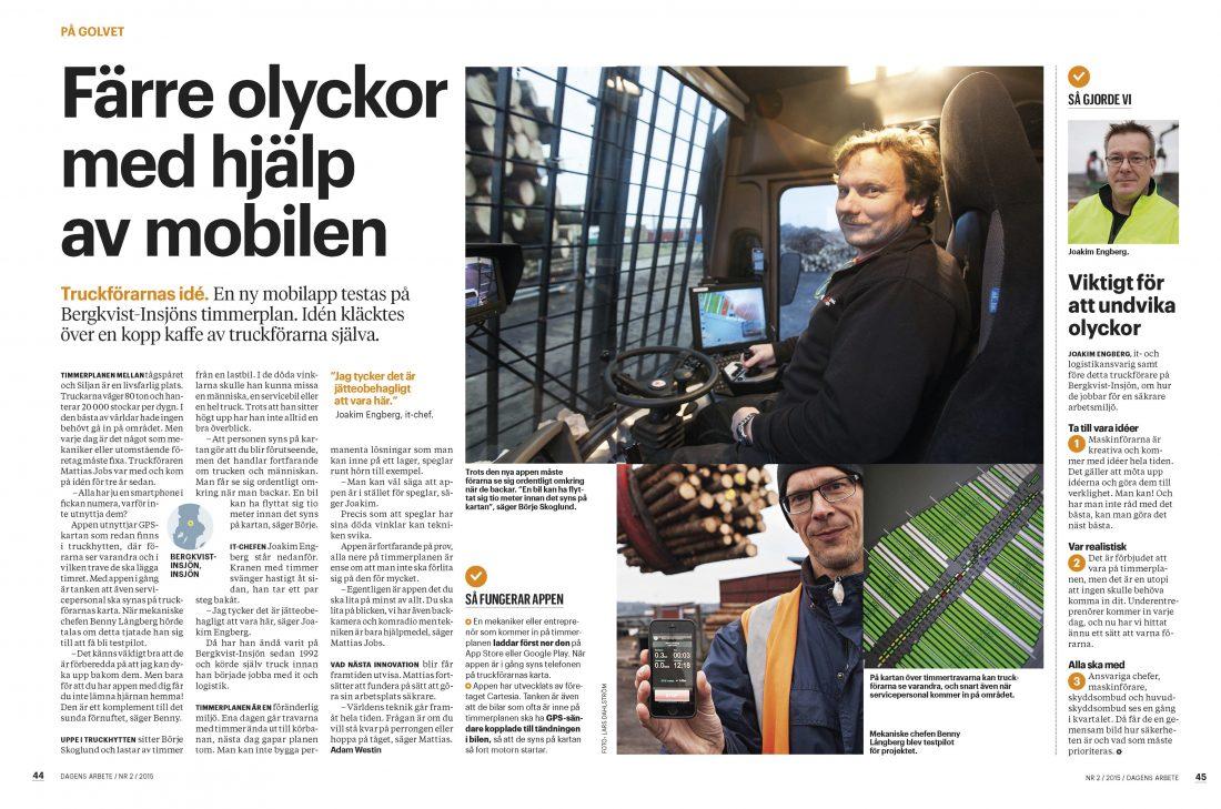 Dagens Arbete nr 2/2015