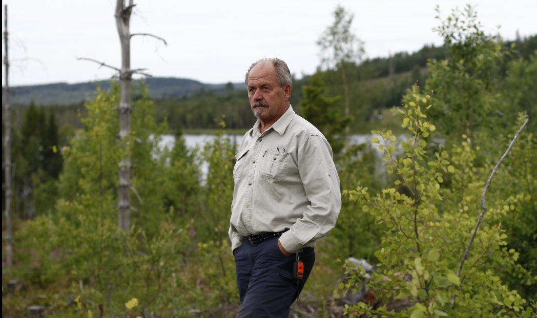 Alf Hallén har sett hur miljön har fått betydligt större utrymme i skogsbruket. Foto: Marie Edholm