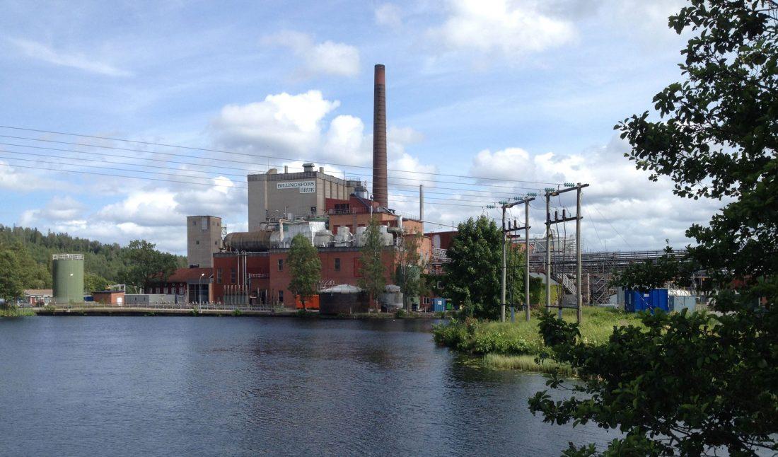 Ahlstrom Munksjö Billingsfors 26656kronor i snittlön. Foto: Wikimedia Commons.