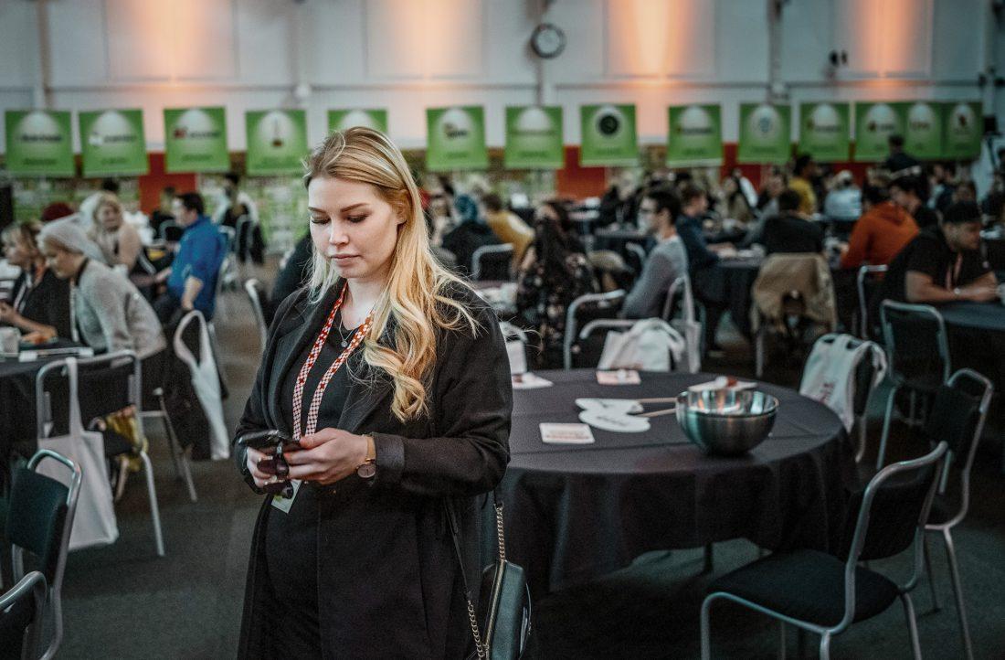Elin Näslund på LO-konferens