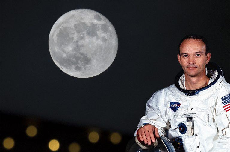 Michael Collins och månen