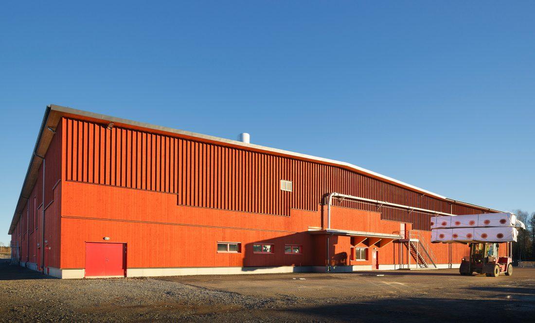 Stora Ensos fabrik i Grums