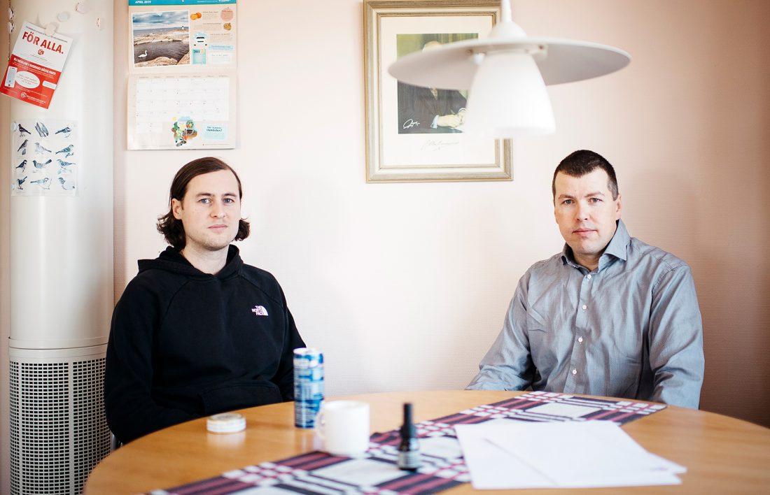 Martin Assarsjö och Håkan Edlund