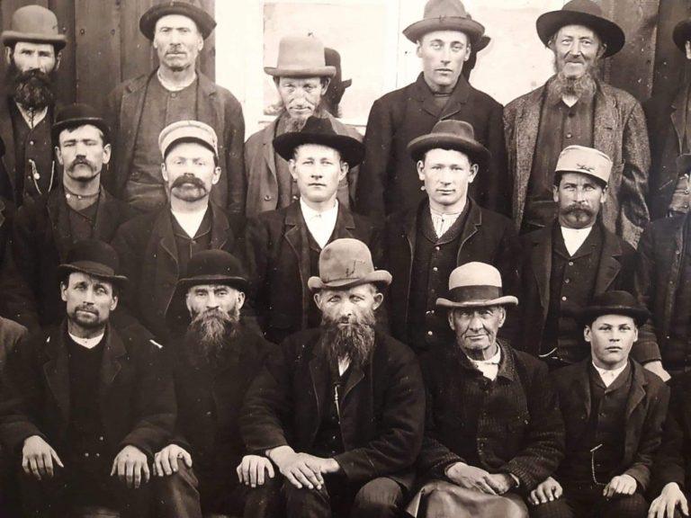 Gruvarbetare i Persberg.
