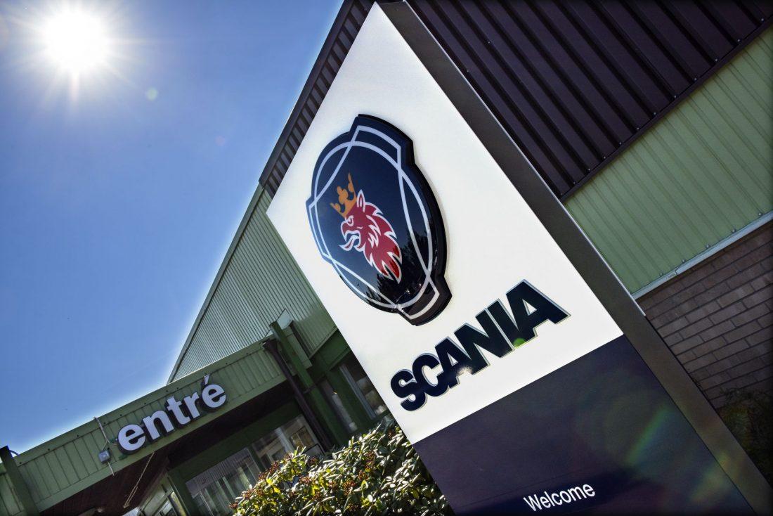 Entrén till Scania Södertälje