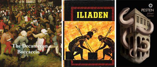 Decameron, Illiaden, Pesten.