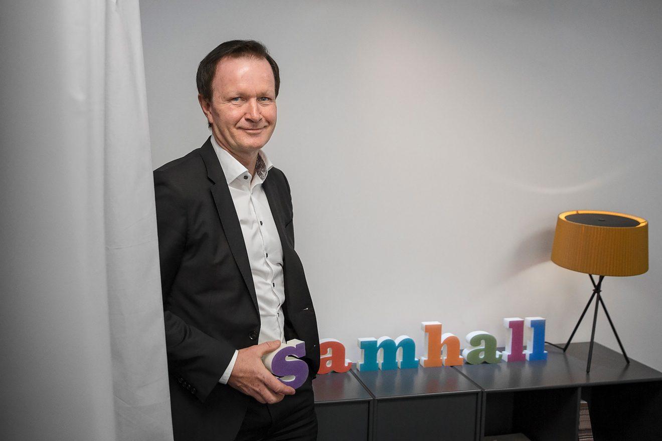 Samhall: Sjuktalen ska gå åt rätt håll hos oss