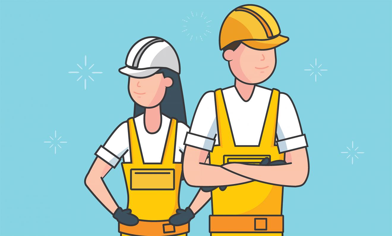Arbetskamrater med det lilla extra – vem vill du lyfta?