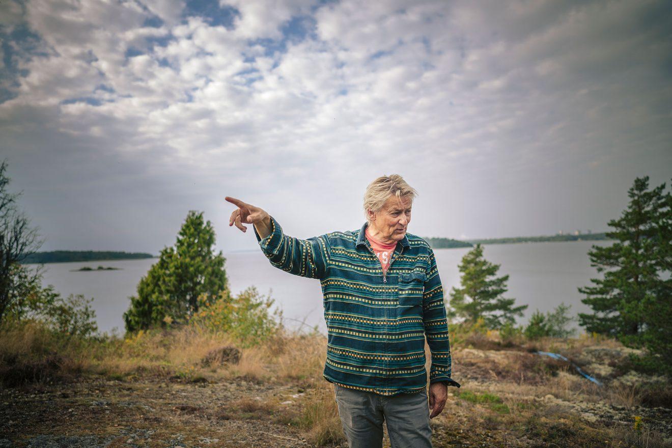 Lars Lerin valde livet