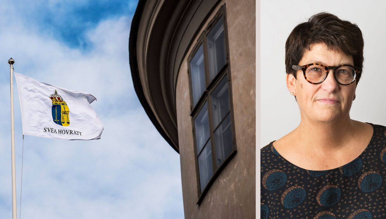 Helle Klein i stökig rättegång med nazist