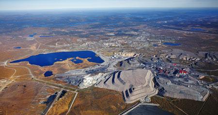 Arbetsmiljöverket riktar kritik mot hur unga introduceras vid LKAB:s gruva i Kiruna. Foto: LKAB