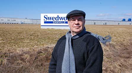 Bill Street kämpar för rätten att organisera arbetarna i Ikeas fabrik i Danville. Foto: ANDERS ELGHORN