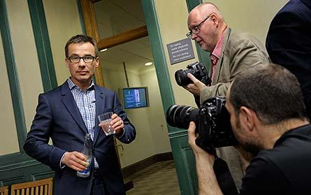 Socialförsäkringsminister Ulf Kristersson vill göra förändringar i sjukförsäkringssystemet. Foto: JANERIK HENRIKSSON