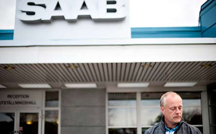 """""""Det viktiga är att man inte står utan idéer eller förslag till lösningar"""", säger verkstadsklubbens ordförande Håkan Skött.  Foto: BJÖRN LARSSON ROSVALL"""